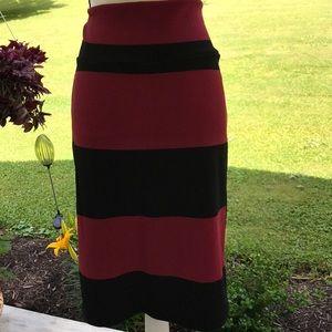 XL LuLaRoe Cassie Pencil Skirt